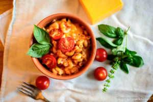 Mom's Tomato Mac n' Cheese